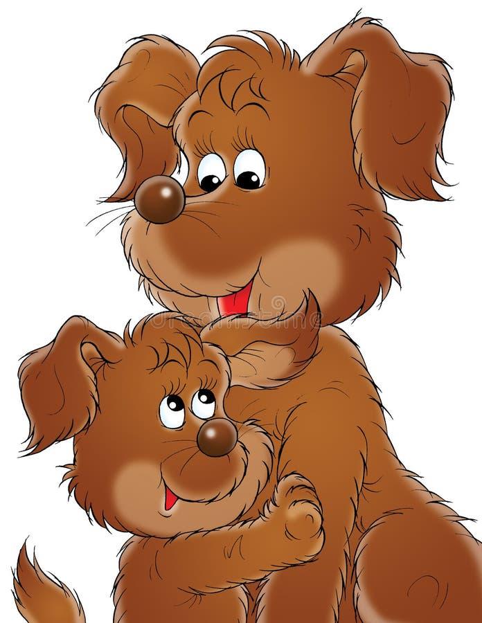 Il mio cane 007 illustrazione vettoriale