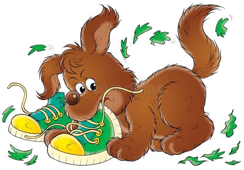 Il mio cane 012 royalty illustrazione gratis