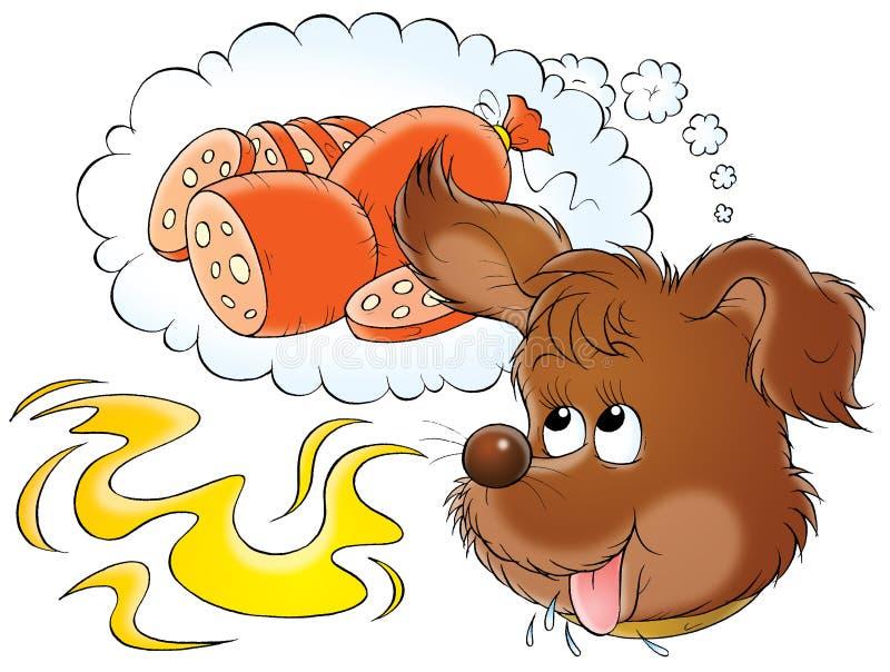 Il mio cane 013 illustrazione di stock