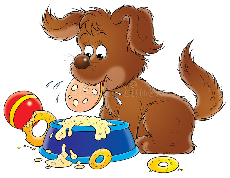 Il mio cane 015 royalty illustrazione gratis