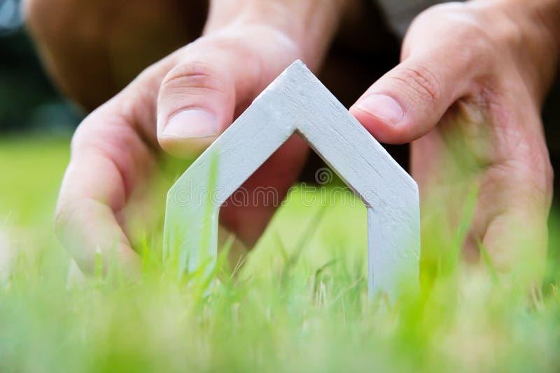 Il mio concetto della casa di sogno fotografia stock for Aprire case di concetto