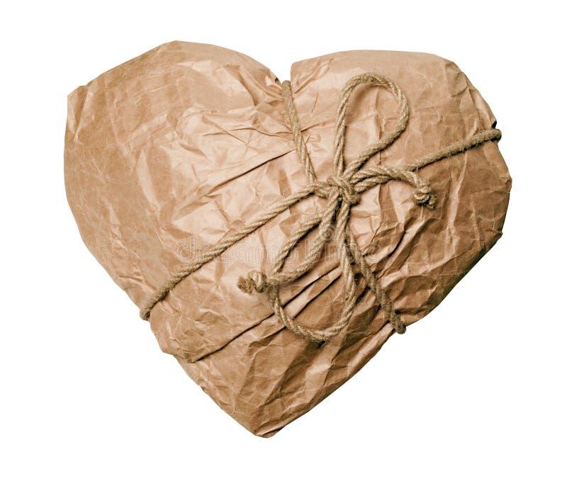 Il mio cuore - regalo per voi! immagini stock libere da diritti