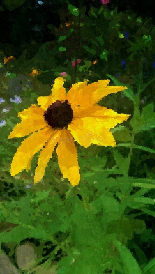 Il mio giardino fotografie stock