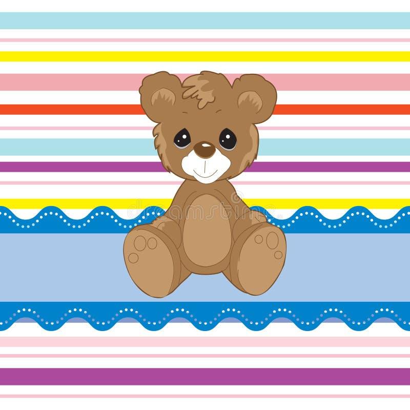 Il mio piccolo orso sveglio royalty illustrazione gratis