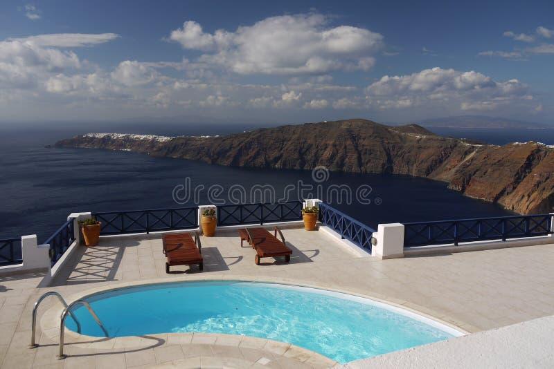 Il mio sogno - Santorini immagine stock libera da diritti