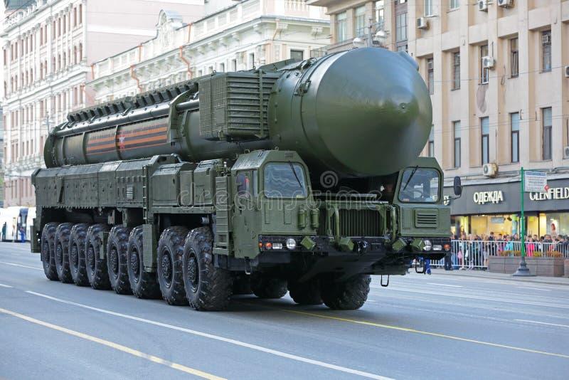 Il missile balistico intercontinentale di RS-24 Yars immagine stock libera da diritti