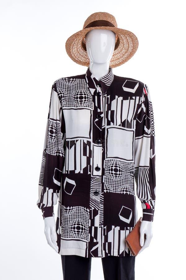 Il ` moderno alla moda s delle donne dell'estate copre l'attrezzatura immagine stock libera da diritti