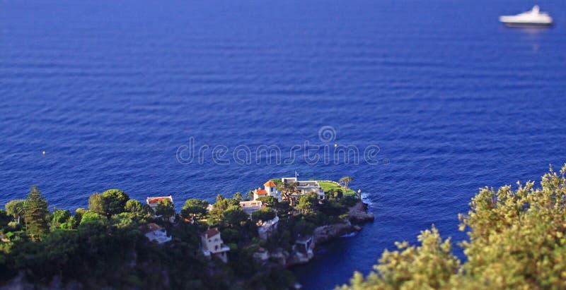 Il Monaco, a sud della Francia fotografie stock