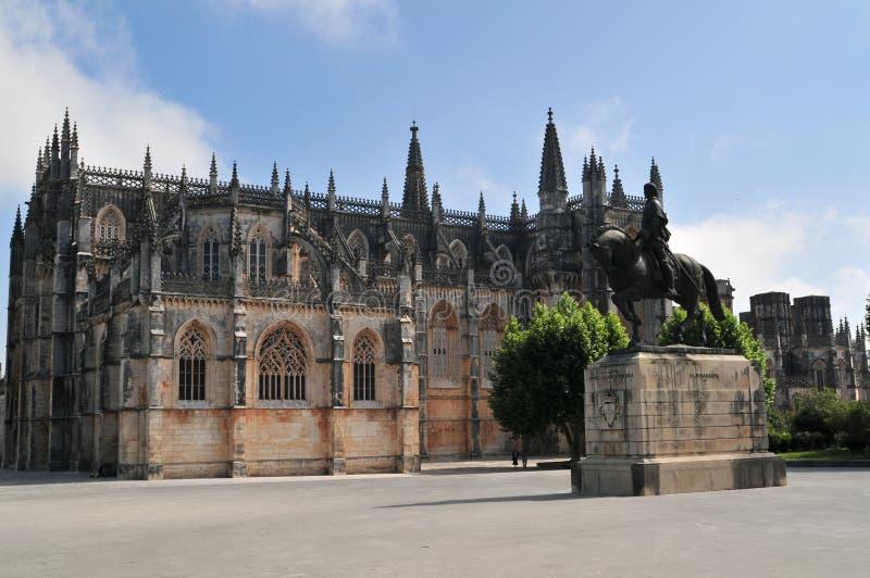 Il monastero di Batalha immagini stock libere da diritti