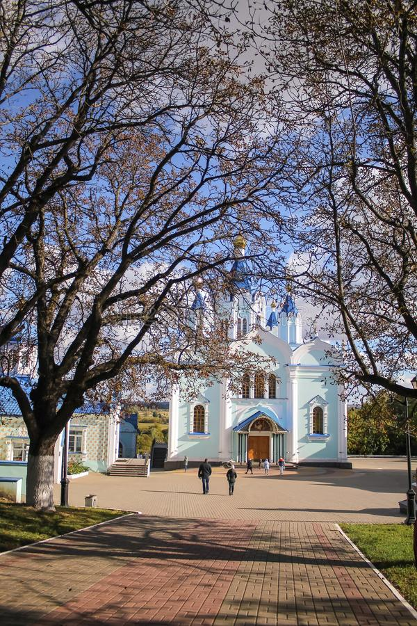 Il monastero di Korennaya nella regione di Kursk Città di Kursk, Russia immagine stock
