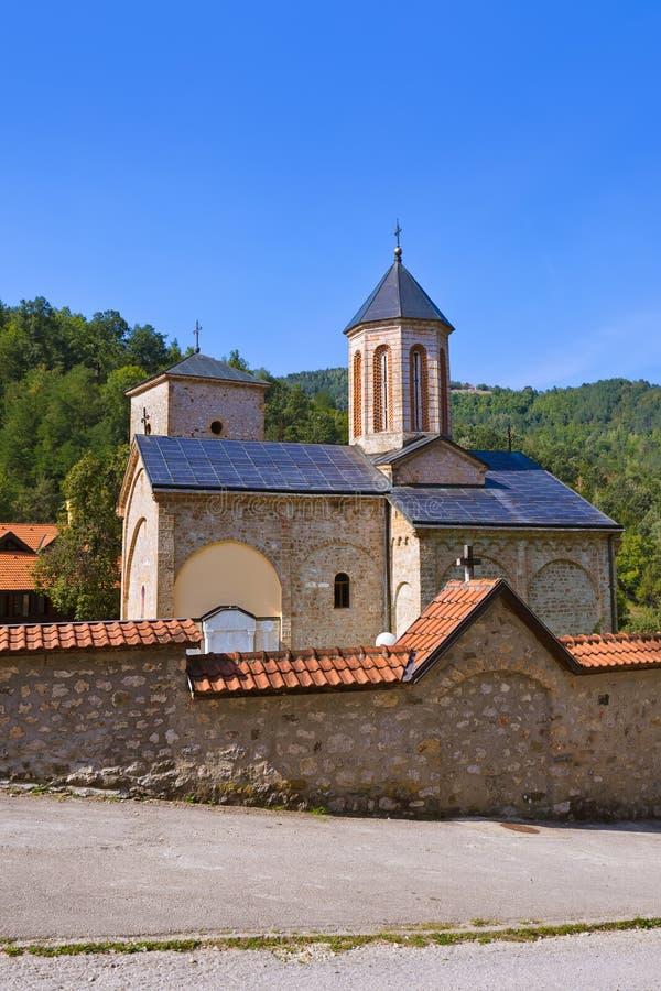 Il monastero medievale Raca - Serbia fotografie stock