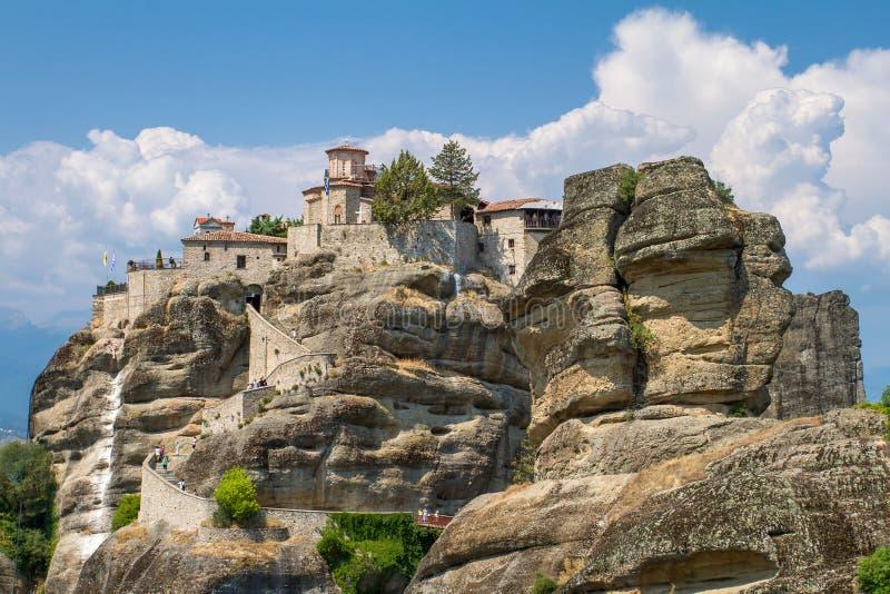Il monastero santo di grande Meteoron, Meteora immagini stock