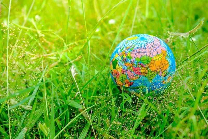 Il mondo con la natura ed ama il mondo immagine stock libera da diritti