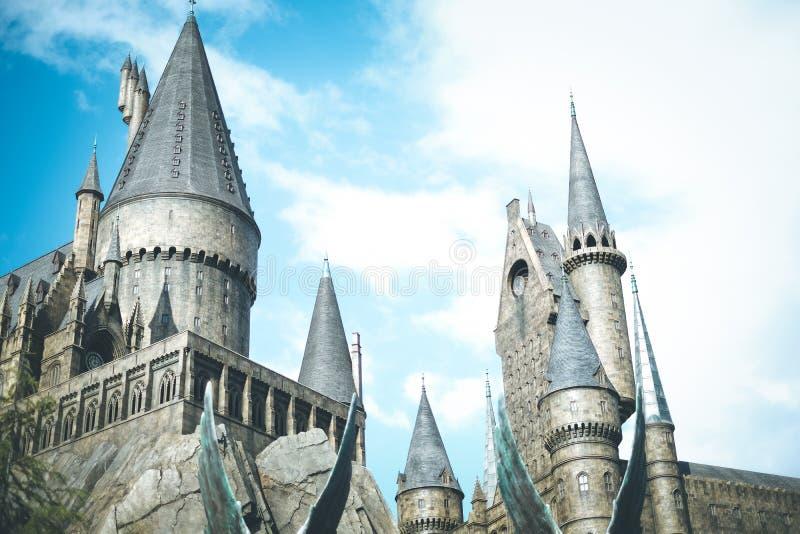 Il mondo wizarding di Harry Potter fotografie stock