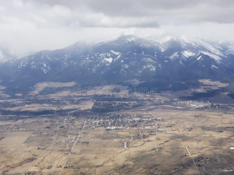 Il Montana da 10000 piedi fotografia stock libera da diritti