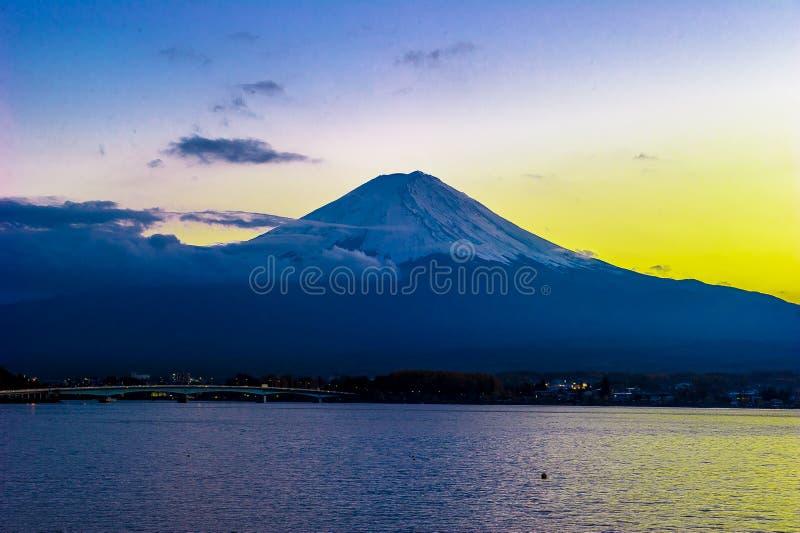 Il monte Fuji fotografie stock libere da diritti