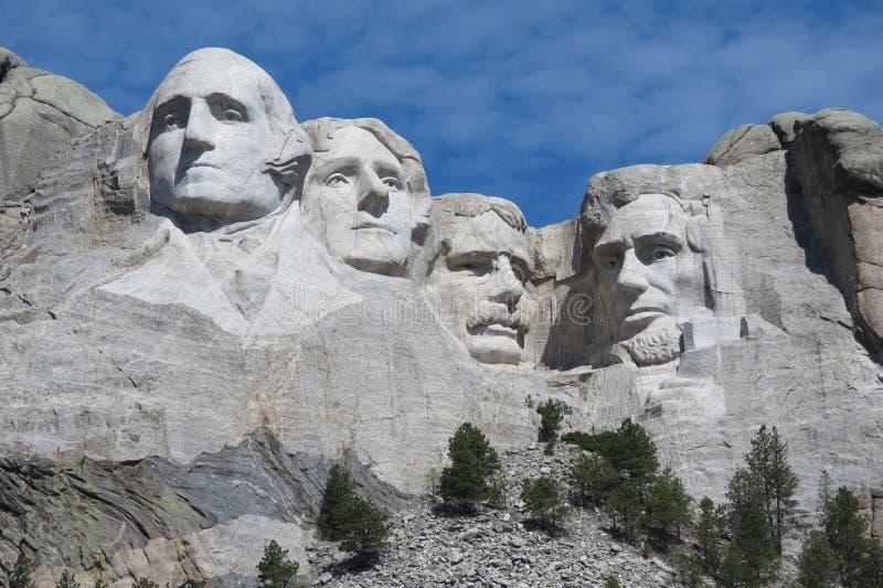 Il monte Rushmore fotografia stock