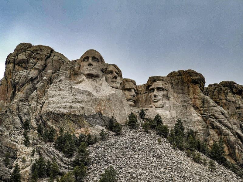 Il monte Rushmore, Black Hills del Sud Dakota, U.S.A. fotografia stock libera da diritti