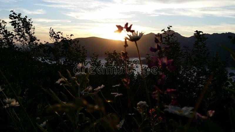 Il Monte Sant'Elena fotografia stock