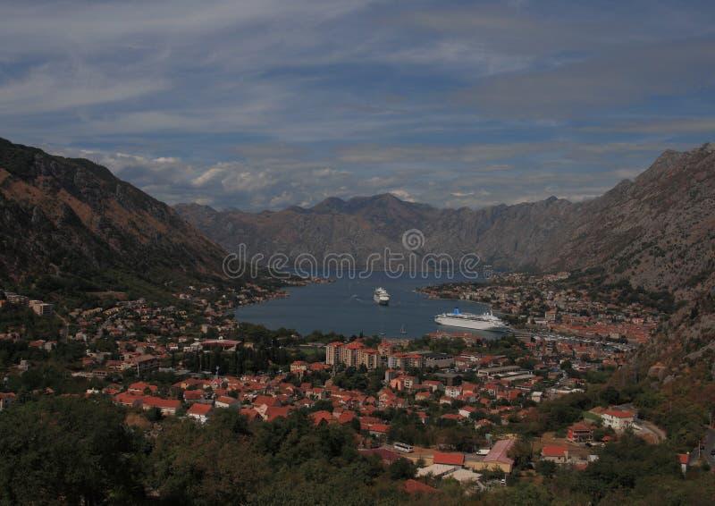 Il Montenegro, kotor fotografia stock