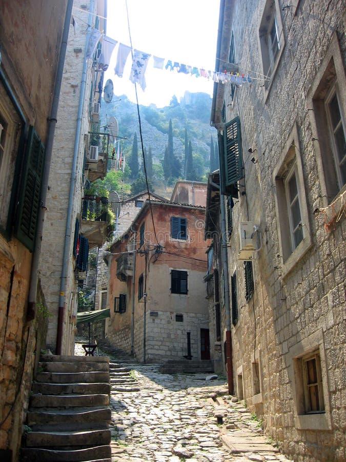 Il Montenegro. Kotor fotografia stock libera da diritti
