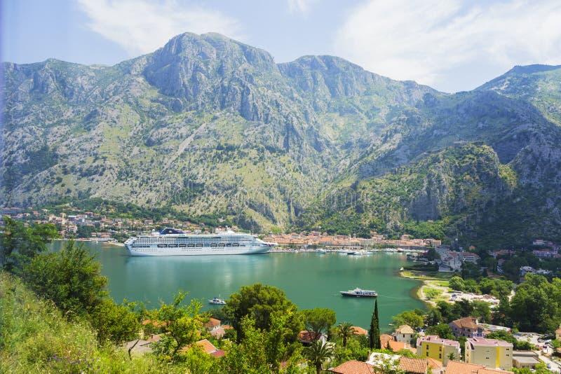 Il Montenegro - la perla della costa adriatica immagine stock