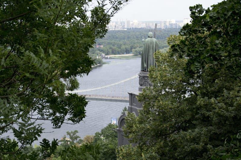 Il monumento alla st Vladimir immagini stock