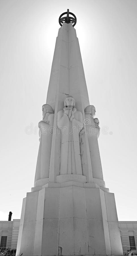 Il monumento artistico e pittoresco dell'astronomo immagine stock