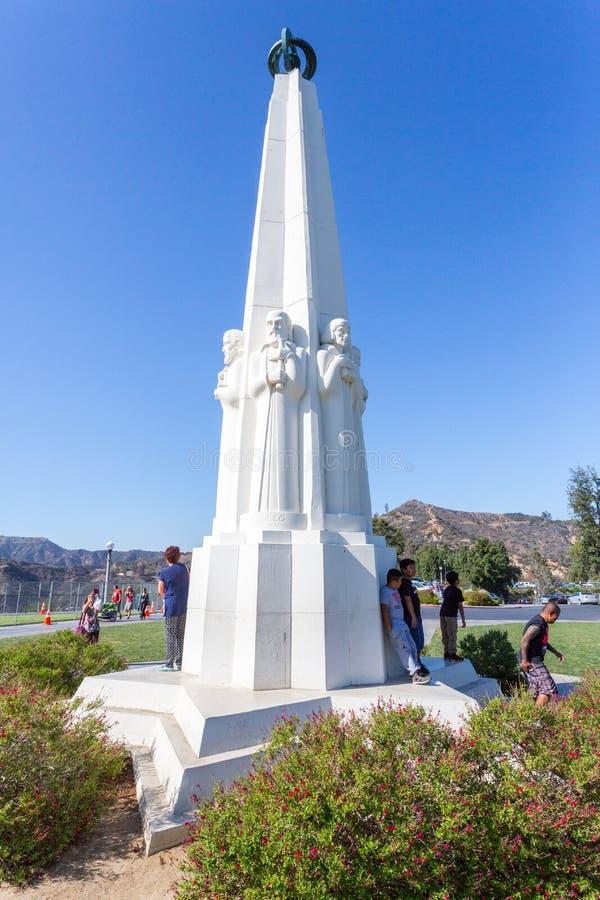 Il monumento degli astronomi fotografie stock libere da diritti