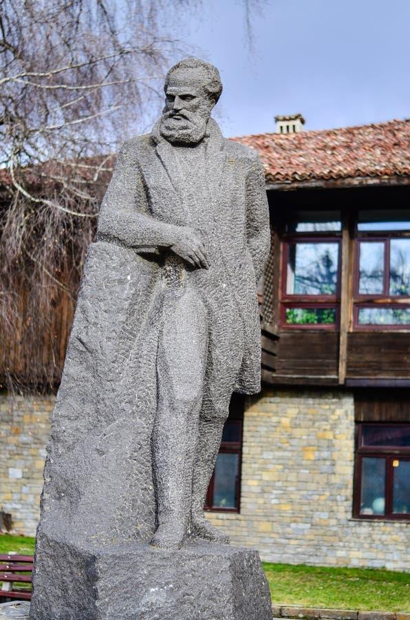 Il monumento dell'eroe nazionale bulgaro Hristo Botev fotografie stock libere da diritti