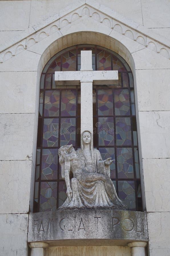 Il monumento della st Maria immagine stock libera da diritti