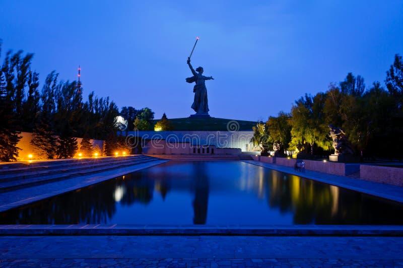 Il monumento di Mamayev a Volgograd immagini stock libere da diritti