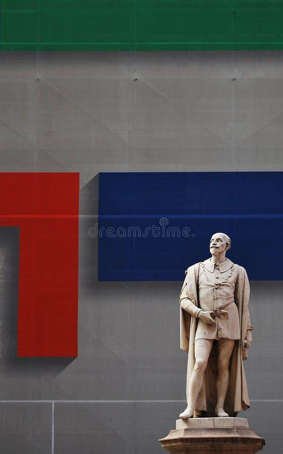 Il monumento di Tassoni a Modena immagini stock libere da diritti
