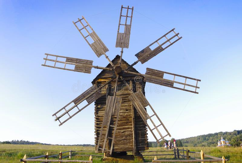 Il mulino nella regione di Kiev immagine stock