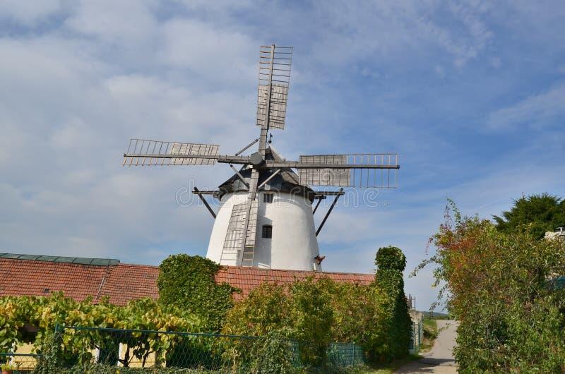 Il mulino a vento è attualmente il solo mulino a vento funzionante dentro immagini stock libere da diritti