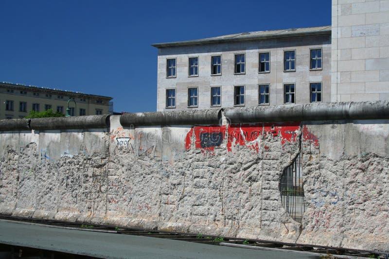 Il muro di Berlino fotografie stock
