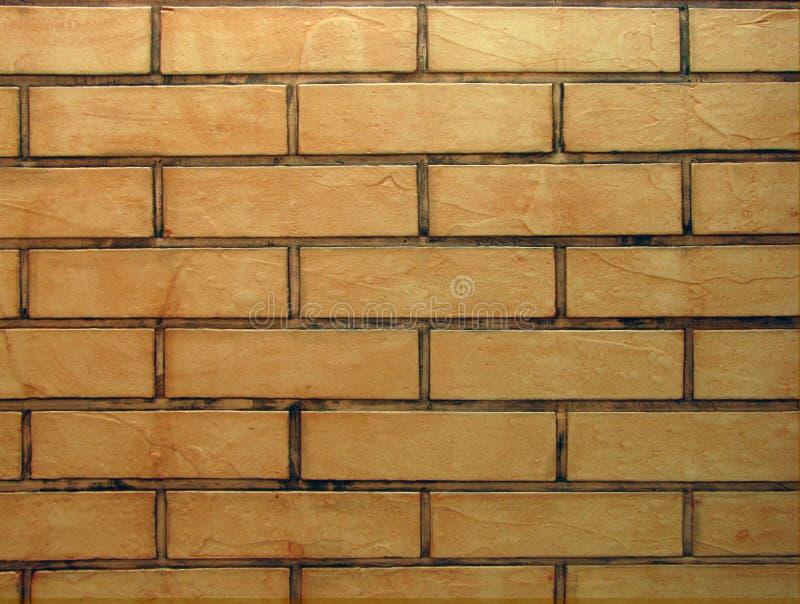 Il muro di mattoni arancio del tono di stile d'annata ha dettagliato il fondo strutturato modello: dettaglio della muratura della immagini stock libere da diritti