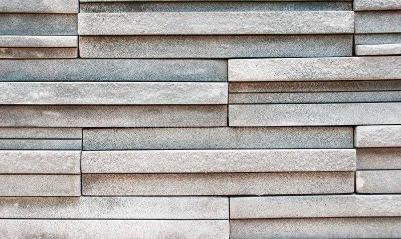 Il muro di mattoni di struttura delle mattonelle è emerso fotografia stock libera da diritti