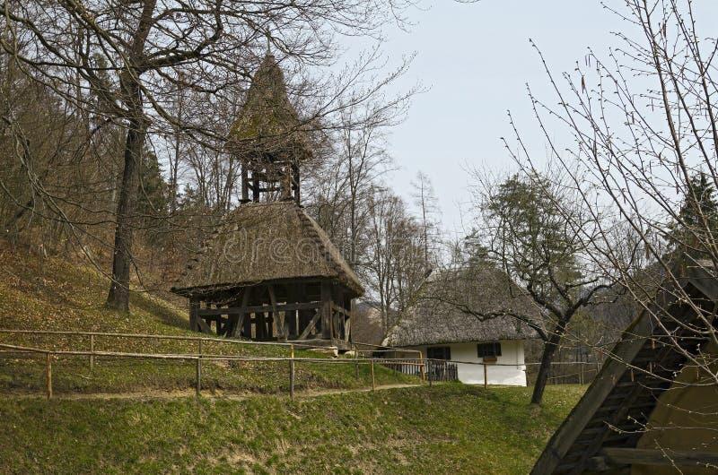 Il museo all'aperto austriaco Stuebing vicino a Graz fotografie stock libere da diritti