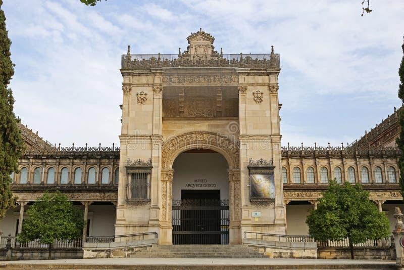 Il museo archeologico di Siviglia fotografie stock