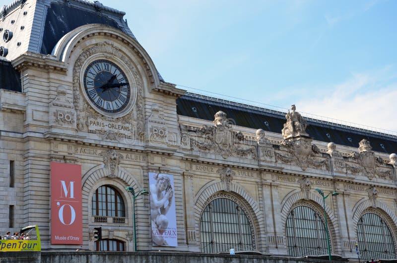 Il museo D'Orsay a Parigi, Francia fotografia stock