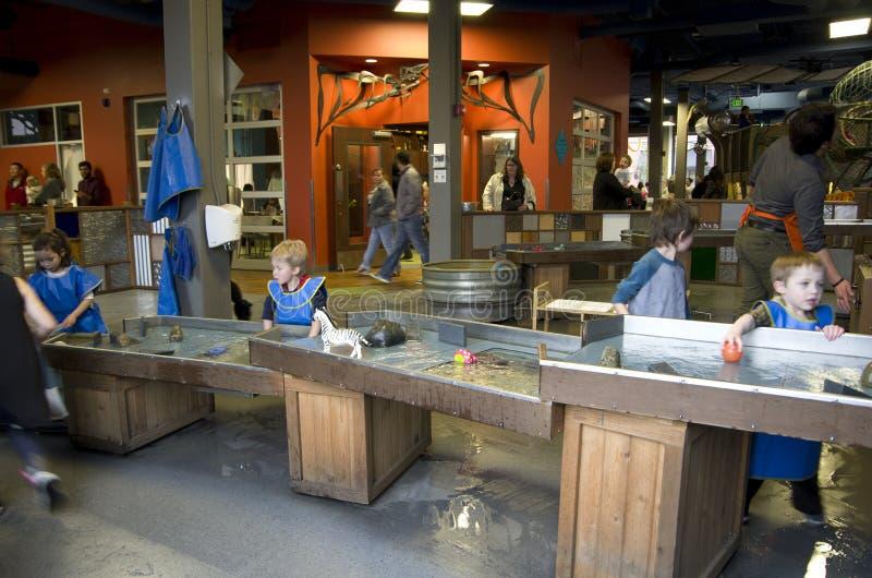 Il museo dei bambini di Tacoma immagine stock libera da diritti