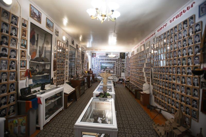 Il museo dei soldati caduti, stepanakert, artsakh, regione di ngorno karabakh, armenia immagine stock libera da diritti