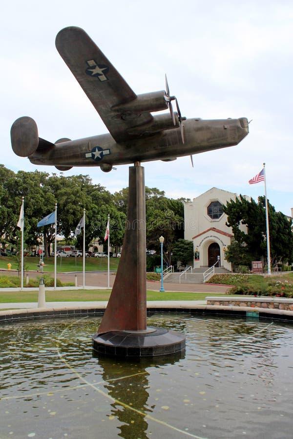 Il museo dei veterani ed il centro commemorativo fotografie stock