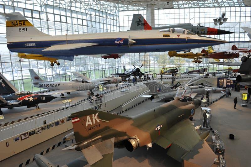 Il museo del volo, Seattle immagine stock libera da diritti