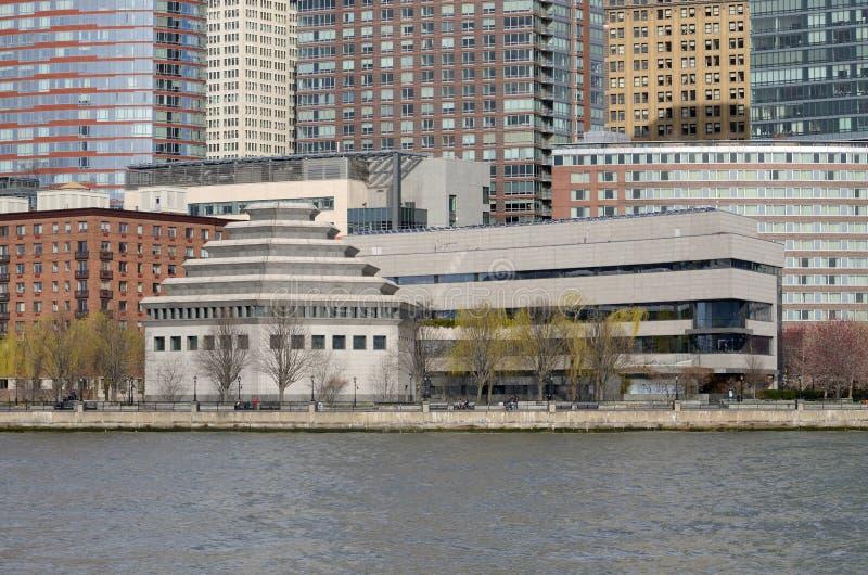 Il museo dell'eredità ebrea NYC Tom Wurl fotografie stock