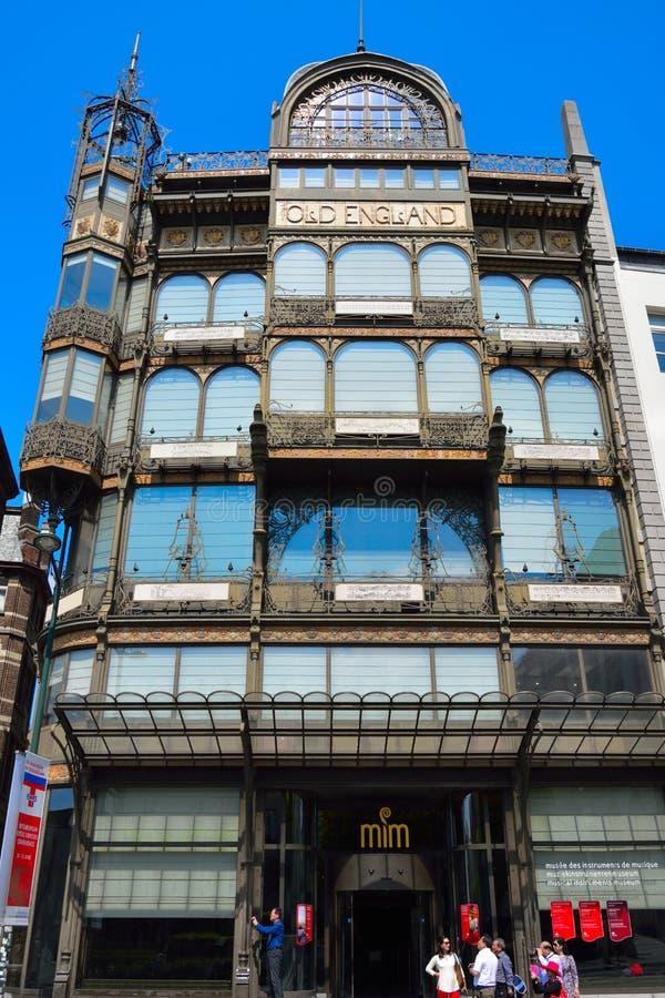 Il museo dello strumento musicale (MIM) è un museo di musica a Bruxelles centrale, Belgio immagine stock libera da diritti