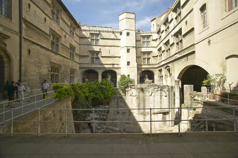 Il museo di Arlaten, Arles, Francia fotografia stock libera da diritti