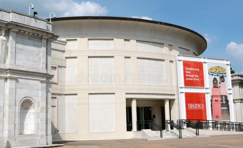 Il museo di arte moderna, Memphis Tennessee dei ruscelli immagini stock