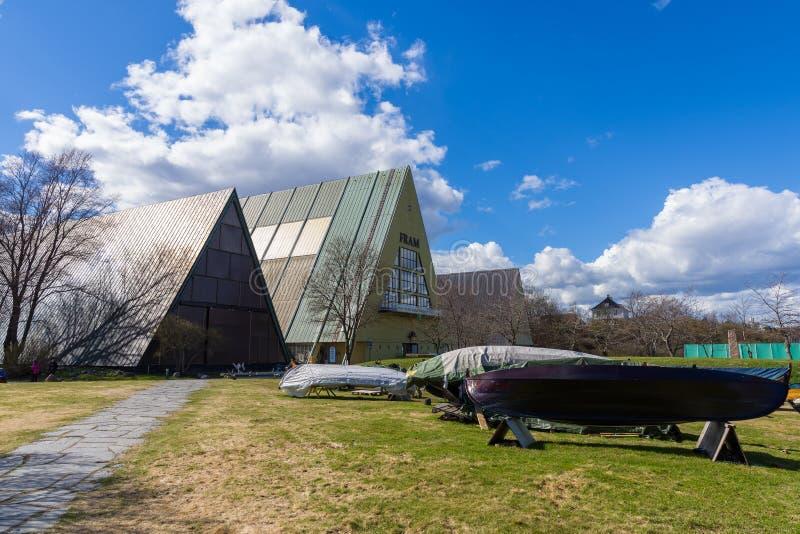 Il museo di Fram è un museo che racconta la storia del pola norvegese fotografia stock